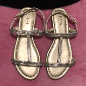 Guess sandals.